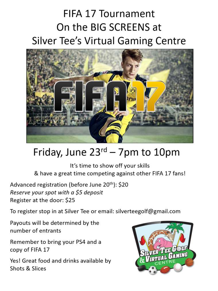 FIFA 17 Tournament at Silver Tee