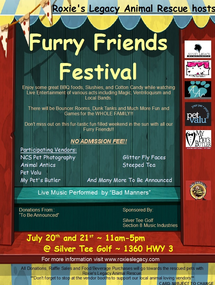 Furry Friends Festival at Silver Tee Golf Centre Windsor Ontario