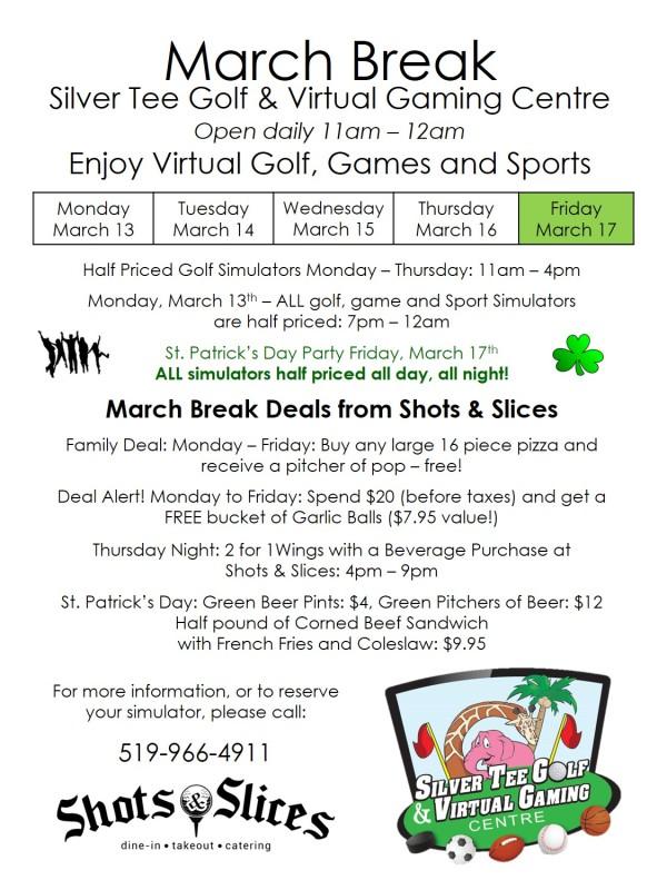 March Break Fun Things to Do in Windsor On