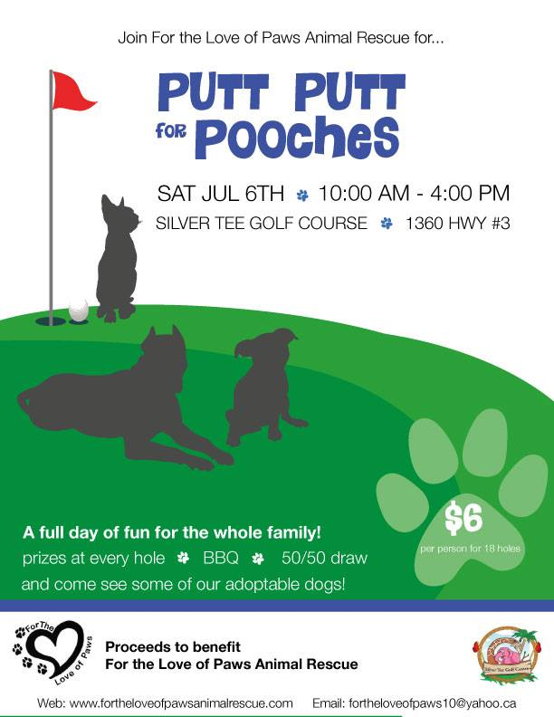 Putt Putt For Pooches at Silver Tee Golf Centre