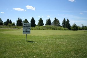 Putting Green Golf practice Windsor Ontario