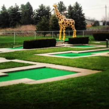 Silver Tee Mini Golf Windsor Ontario