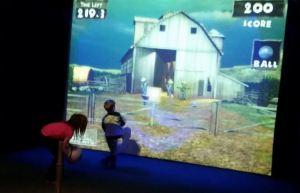 Zombie Dodgeball At Silver Tee Virtual Gaming Centre