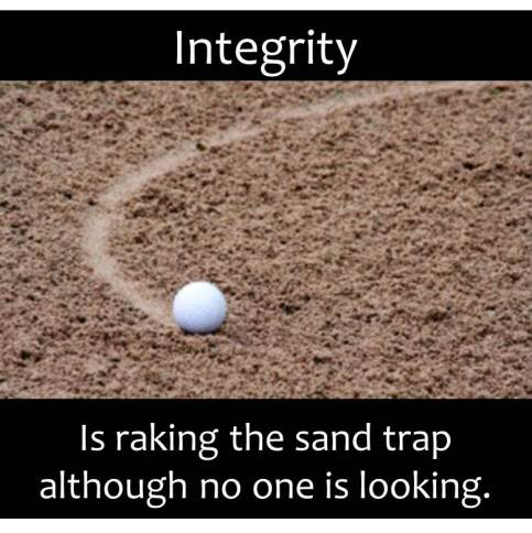 Integrity in Golf - Silver Tee Golf Centre