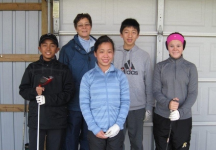 Junior Golfers Silver Tee Golf Centre Nov 2013