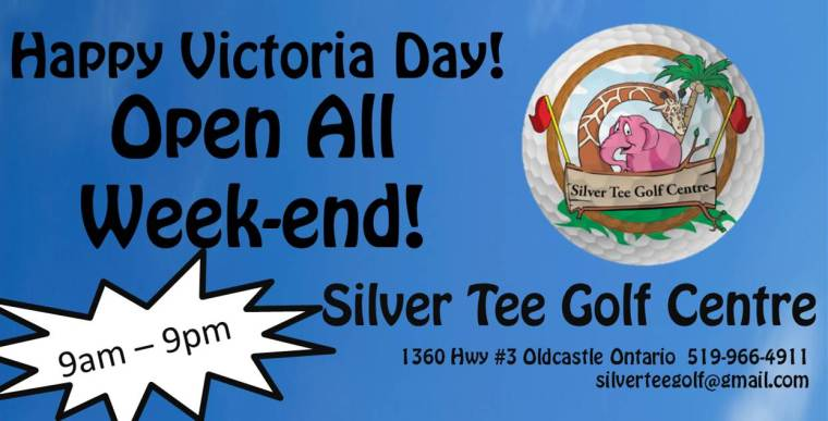 Open Victoria Day Week-end Silver Tee Golf Centre