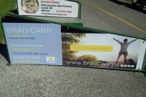 Brad Carr sponsor