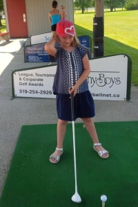 Junior golfer July 2014