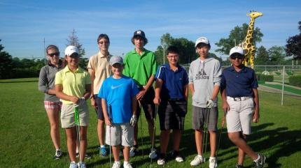 Junior Golfers July 2014 Silver Tee Golf Centre