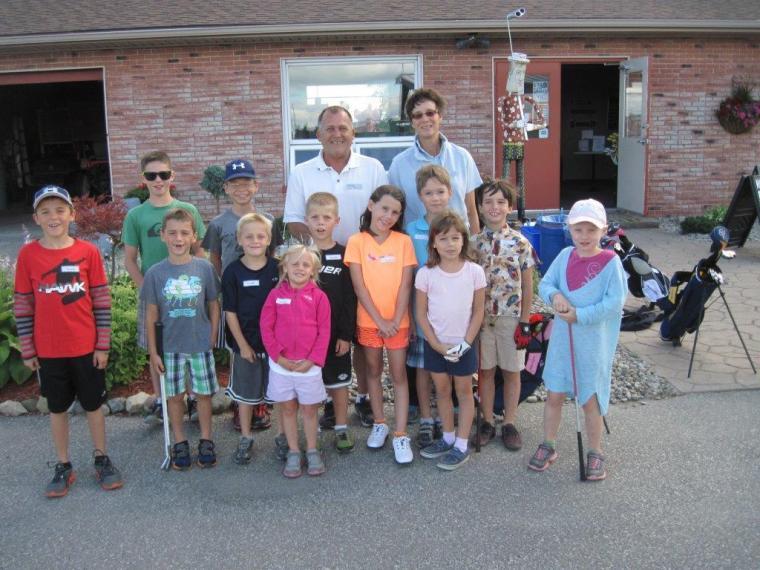 Wednesday Junior Golfers Silver Tee July 2014
