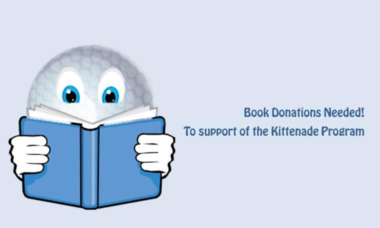 Book donations needed - Silver Tee Kittenade Fundraiser