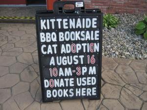 Kittenaide fundraiser Silver Tee Windsor Ontario