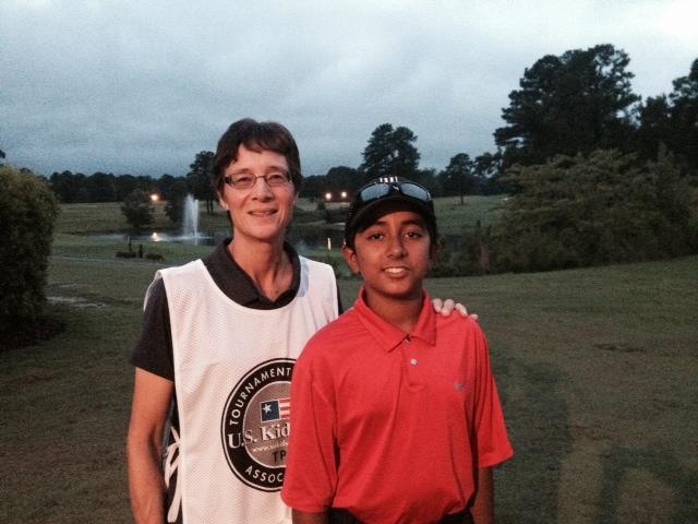 Shawn Sehra CPGA Coach Joye McAvoy Silver Tee Golf Centre