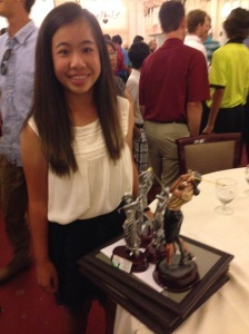 Jasmine Ly Silver Tee Junior Golfer