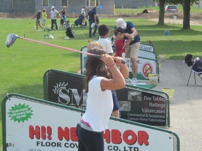 Kids golf lessons Windsor Essex County Ontario