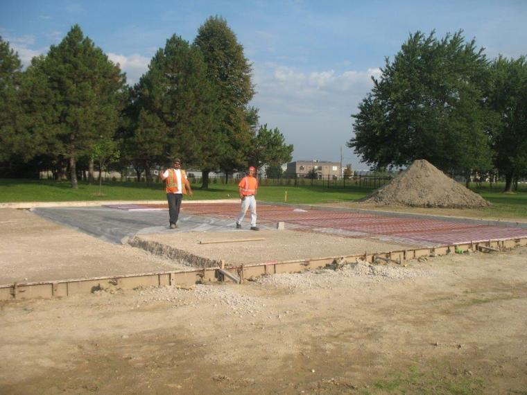 Silver Tee - Construction September 2014