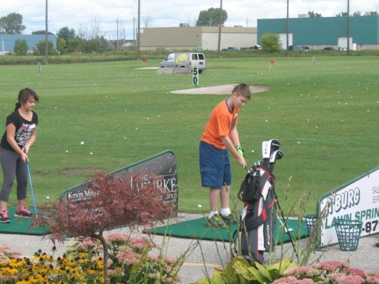 Silver Tee Junior Golfers September 2014 1