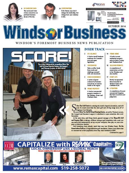 Silver Tee - Windsor Business Magazine