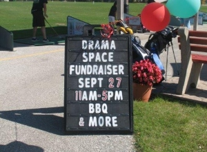 Drama Space Fundraiser at Silver Tee Sept 2014 2
