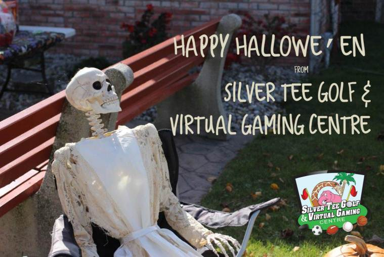 Happy Halloween from Silver Tee Golf & Virtual Gaming Centre