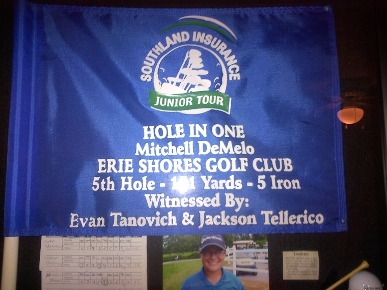 Mitch DeMelo Silver Tee Junior Golfer