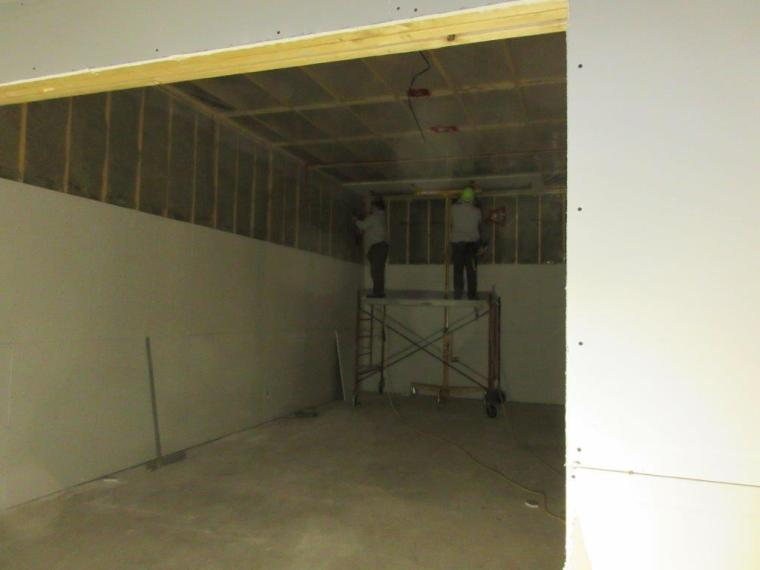 Virtual Gaming Centre Construction Interior Oct 2014 (1)