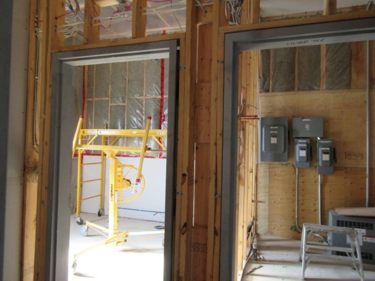 Construction Nov 7 2014 Silver Tee Golf Centre