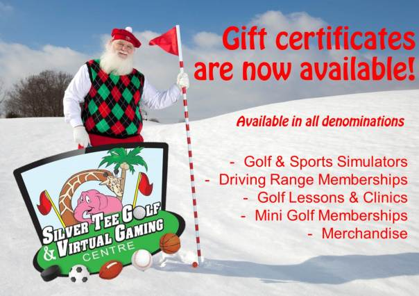 Silver Tee Golf & Virtual Gaming Centre Gift Certificates