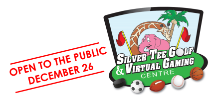 Silver Tee Golf & Virtual Gaming Centre Open to the Public December 26