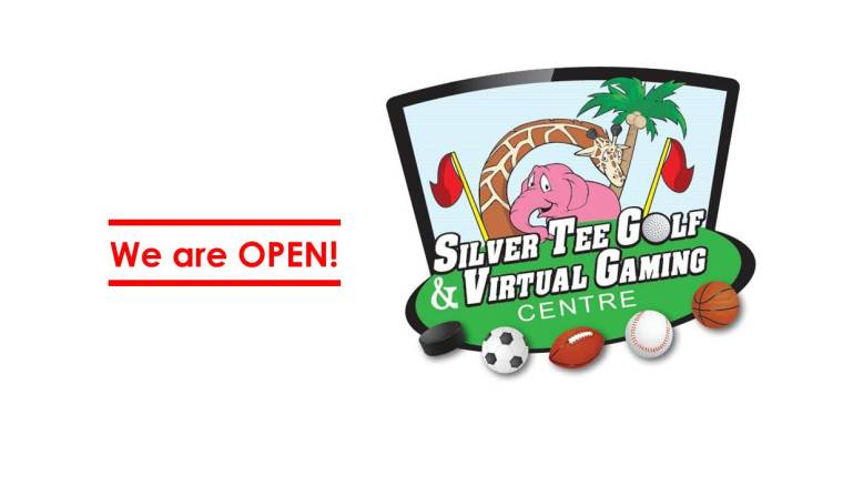 We are open Silver Tee Golf & Virtual Gaming Centre