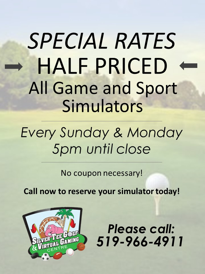 Special rates at Silver Tee