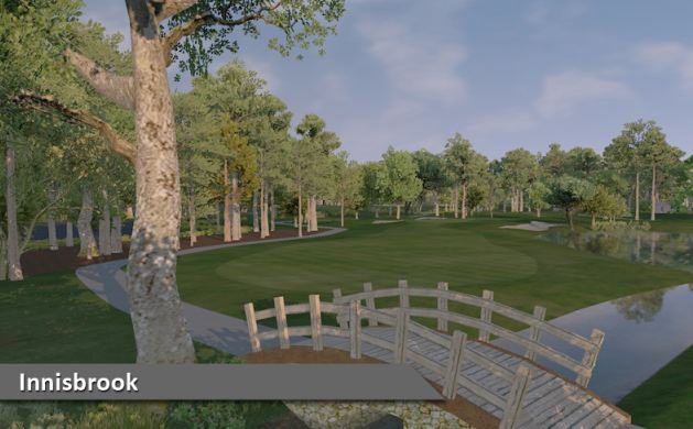 Play Innisbrook at Silver Tee Virtual Gaming Centre