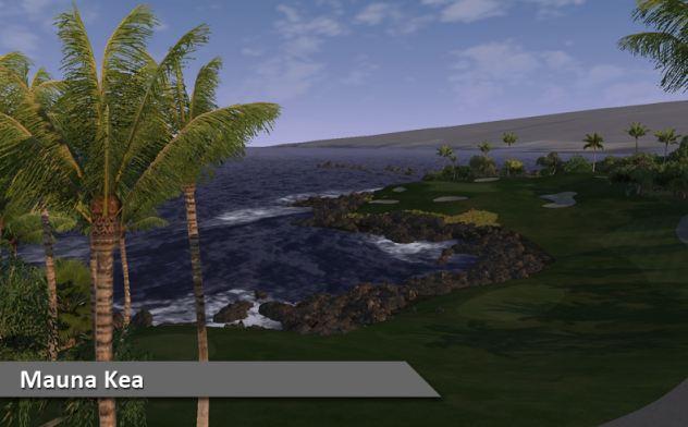 Play Mauna Kea at Silver Tee Golf & Virtual Gaming Centre