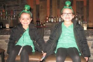 St. Patrick's Day at Silver Tee Virtual Gaming Centre 2015