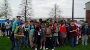 School group fun outing Windsor Essex