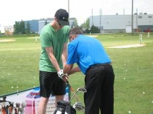 Father's Day Fun Windsor Essex Silver Tee Golf