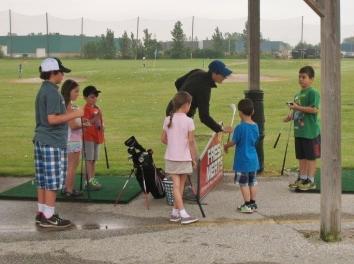 Junior golf lessons windsor essex silver tee