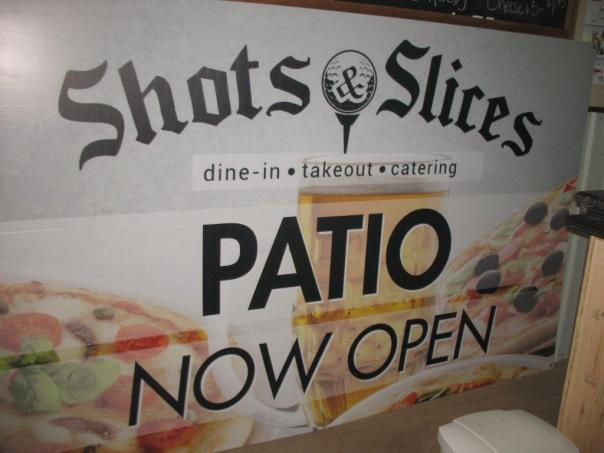 Shots and Slices Patio Bar Windsor Ontario Silver Tee Golf Centre