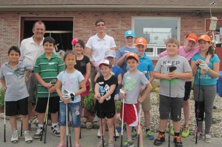 Junior Golf Lessons Windsor Essex Ontario Silver Tee