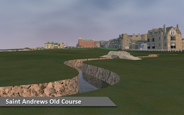 Play St. Andrews Old Course at Silver Tee Indoor Golf