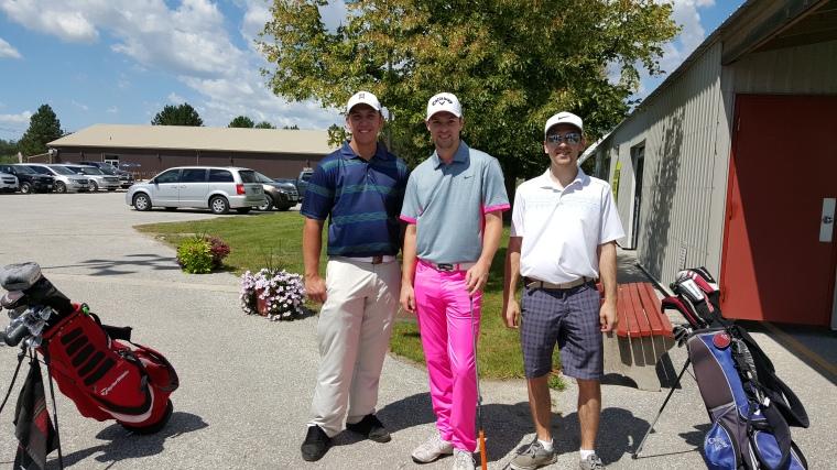 Dapper Golfers Windsor Essex Silver TEe