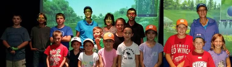 Silver Tee Junior Golfers Sept 2015