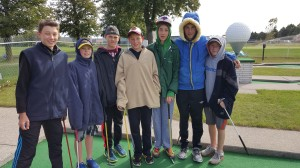 Family fun Windor Essex Fall mini golf Silver Tee