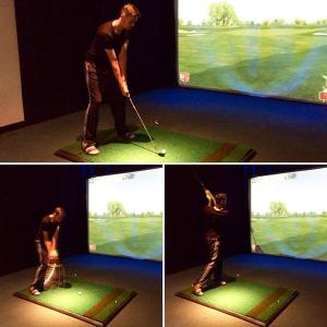 swing track indoor golf tech Silver Tee Windsor