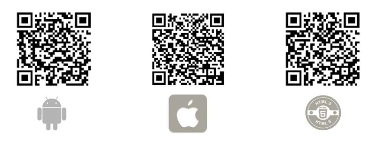 Silver Tee App QR Codes
