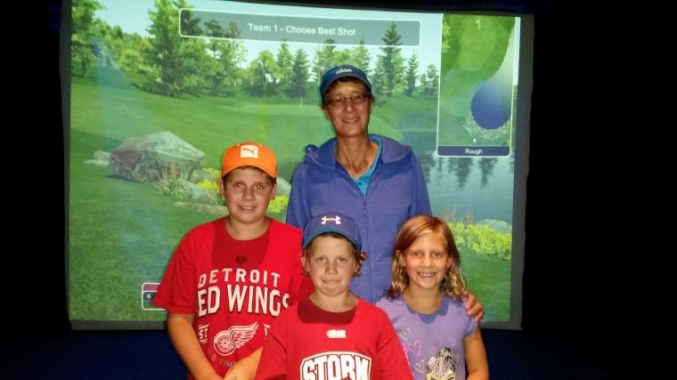 Winter Junior Golf Leagues Windsor Ontario