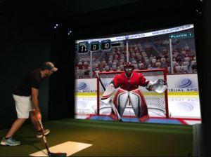 Virtual hockey Windsor Ontario Silver Tee