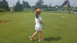 Junior Golf Windsor Essex On Silver Tee