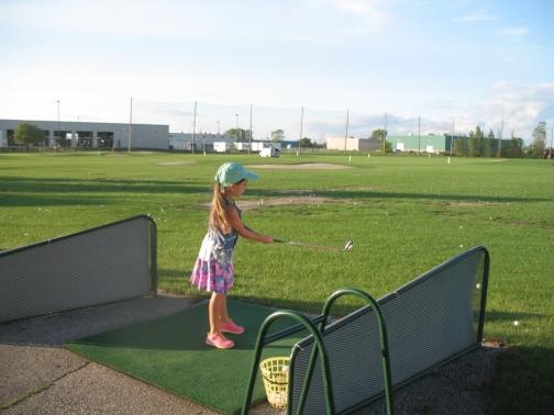 Junior Golfers at Silver Tee Windsor Summer 2016