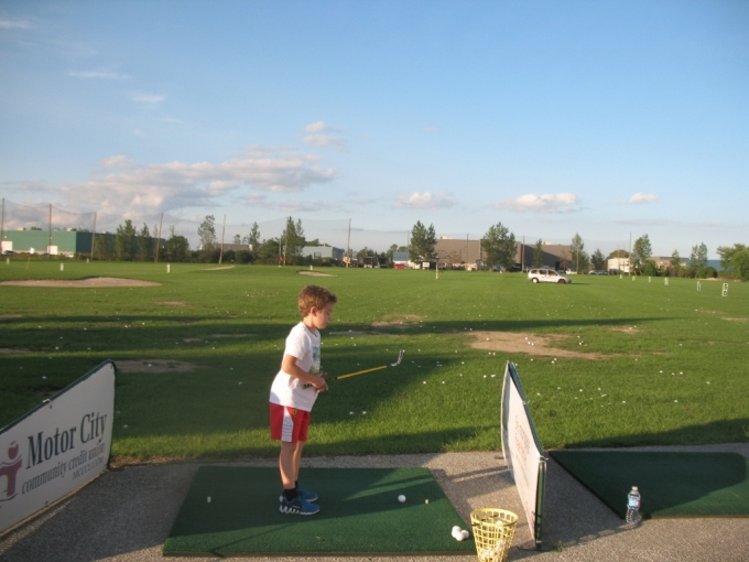 Junior Golfers at Silver Tee Windsor Summer 2016
